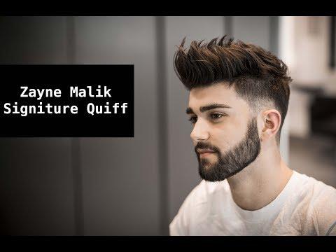 Zayn Malik Signature Hair Tutorial   Mens Summer Hairstyle Inspiration 2017