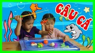 Trò Chơi BÉ ÁNH MAI ĐI CÂU CÁ Câu Con Tôm- Bộ Đồ Chơi Câu Cá Cho Bé- Let's Go Fishing Game for Kids