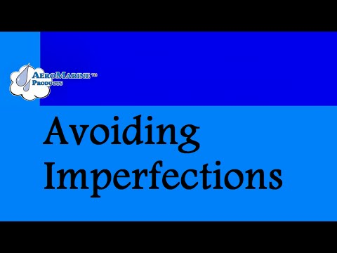 How to avoid surface imperfections in epoxy resin