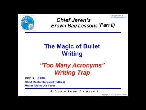 The Magic Bullet: How to Write Bullet Points that Sell Online