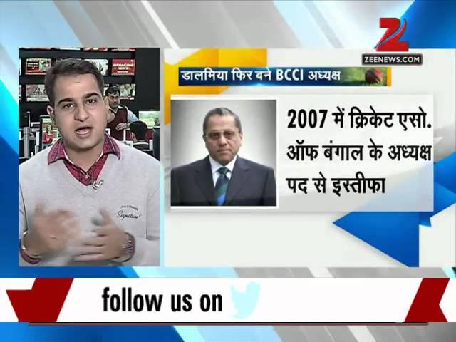 Jagmohan Dalmiya unanimously elected as BCCI president