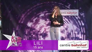 Lili - Burning Sam Smith- Kids Voice Tour 2018 - Centre bahnhof , Beil- Binne