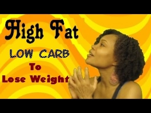 HIGH FAT- Low Carb Diet for weight loss & Maintenance