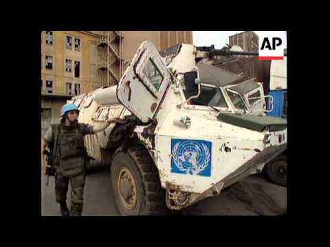 BOSNIA: UN PLAN TO OPEN KEY ROUTE INTO SARAJEVO