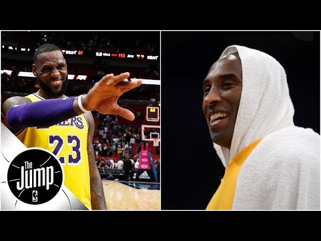 Why LeBron James has to be 'a little more Kobe' on Lakers right now   The Jump