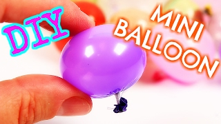 DIY REAL Miniature Balloons