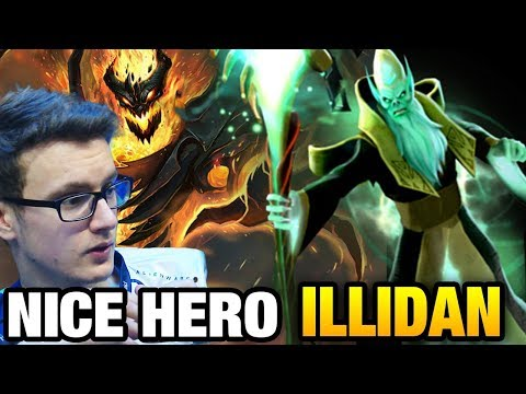Miracle- [Shadow Fiend] vs Illidan [Necrophos] the RED DAY Dota 2