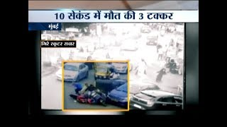 19-year-old girl recklessly drives a car, injures 8 people in Mumbai