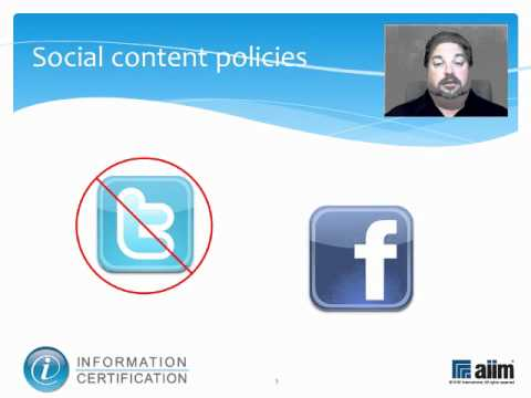 Social Content Governance & Retention