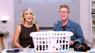 Download Lagu 'The Tyler Oakley Show': Dirty Laundry with Carrie Underwood Gratis STAFABAND