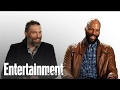 'Hell on Wheels' stars Anson Mount and Common take EW's Pop Culture Personality Test
