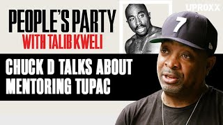 Chuck D Shares Little-Known Tupac Story & Talks Mentoring Rappers | People's Party Clip