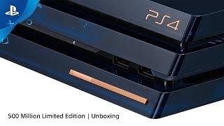 Unboxing the 500 Million LE PS4 Pro