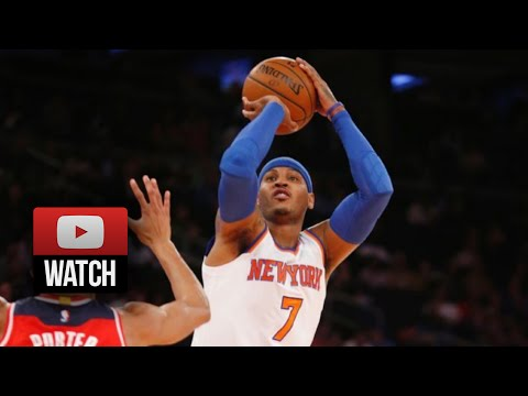 Carmelo Anthony Full Highlights vs Wizards (2014.10.22) - 30 Pts, Clutch!