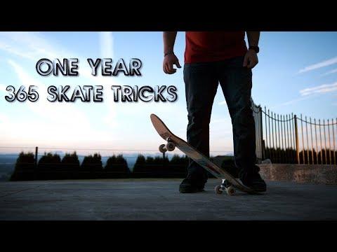A Year Long Skate Challenge | TRE SIX FIVE (Episode 1) #TRE65