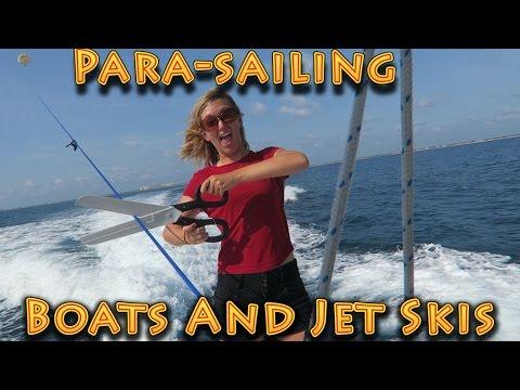 Travel: Parasailing, Jet-ski Ponce de Leon Inlet, FL!!! (06.18.2016)