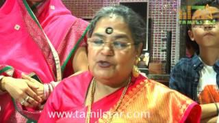 Singer Usha Uthup Inaugurates Kamadhenu Jewellery
