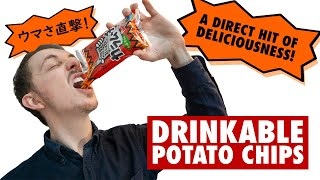 Japans DRINKABLE Potato Chips | Solving Problems Of The Modern Age