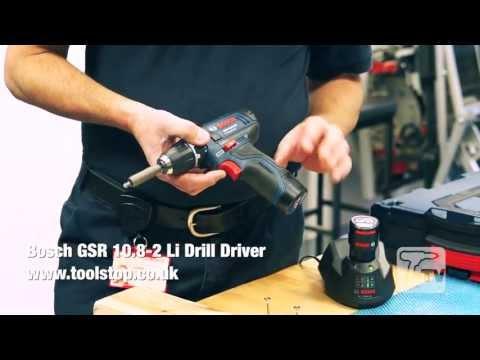 Bosch GSR10.8-LI 10.8V Cordless li-ion Drill Driver