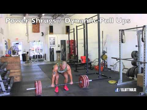 Power Clean Workout (STRENGTH & POWER TRAINING) Image 1