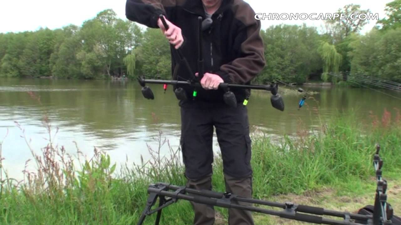 подставка для удилищ carp rod pod 2012 x10 на 4 удилища