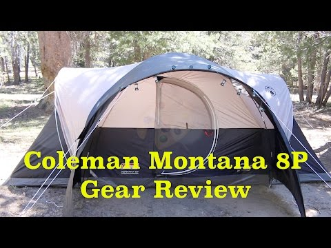 Coleman Montana 8P - 8 Person Tent Gear Review