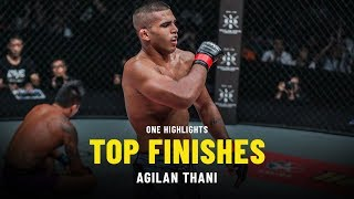 Agilan Thani's Top Finishes | ONE Highlights