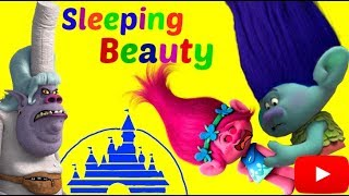 Trolls Poppy is Sleeping Beauty, Cursed by Bergen Chef. Who will save the Princess? - Tons of Toyz