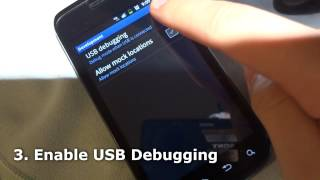 How To Root An Android Phone in 60 seconds - Samsung Exhibit II 4G