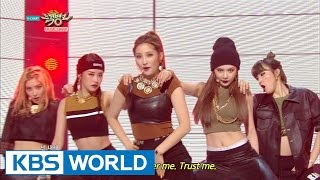 4minute - Crazy   포미닛 - 미쳐 [Music Bank HOT Stage / 2015.03.13]