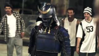 BLACK SAMURAI in BRAZIL (Kotaro tokura)   CUPNOODLE CM Ads