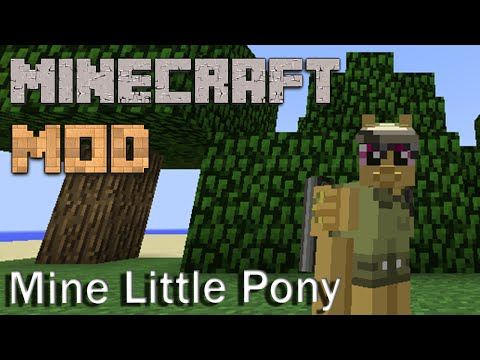 скачать мод mine litlle pony minecraft 1.7.10 #5