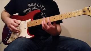 Pearl Jam - Rearviewmirror Guitar Cover (With Leads)