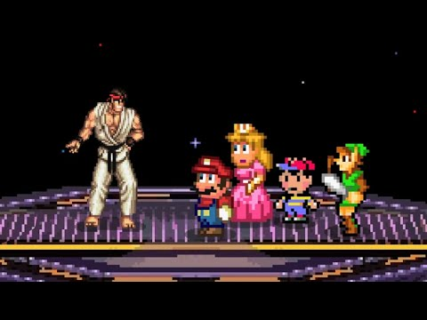 Why a Smash Bros. / Street Fighter Crossover Would Never Work