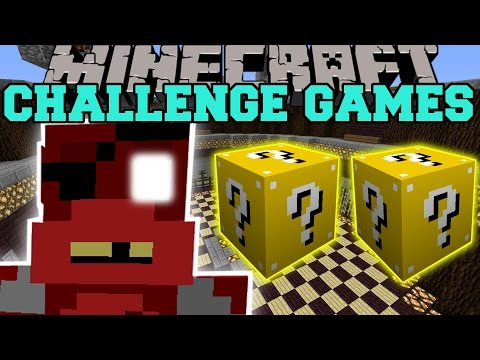 Minecraft: FOXY CHALLENGE GAMES - Lucky Block Mod - Modded Mini-Game
