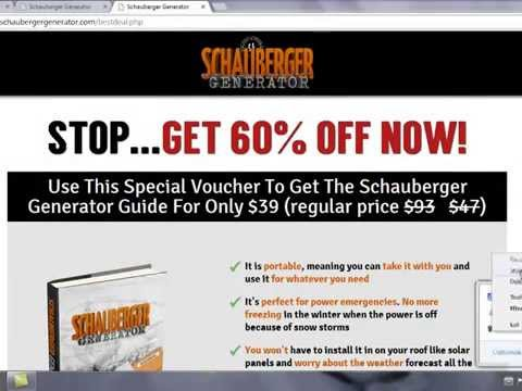Viktor Schauberger Generator Guide Review + Coupon