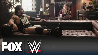 Adam Cole joins Rachel Bonnetta for 'Wrestling With Your Feelings' | WWE BACKSTAGE | WWE ON FOX
