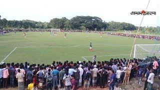 যশোরে ভারত-বাংলাদেশ প্রীতি ফুটবল ম্যাচ