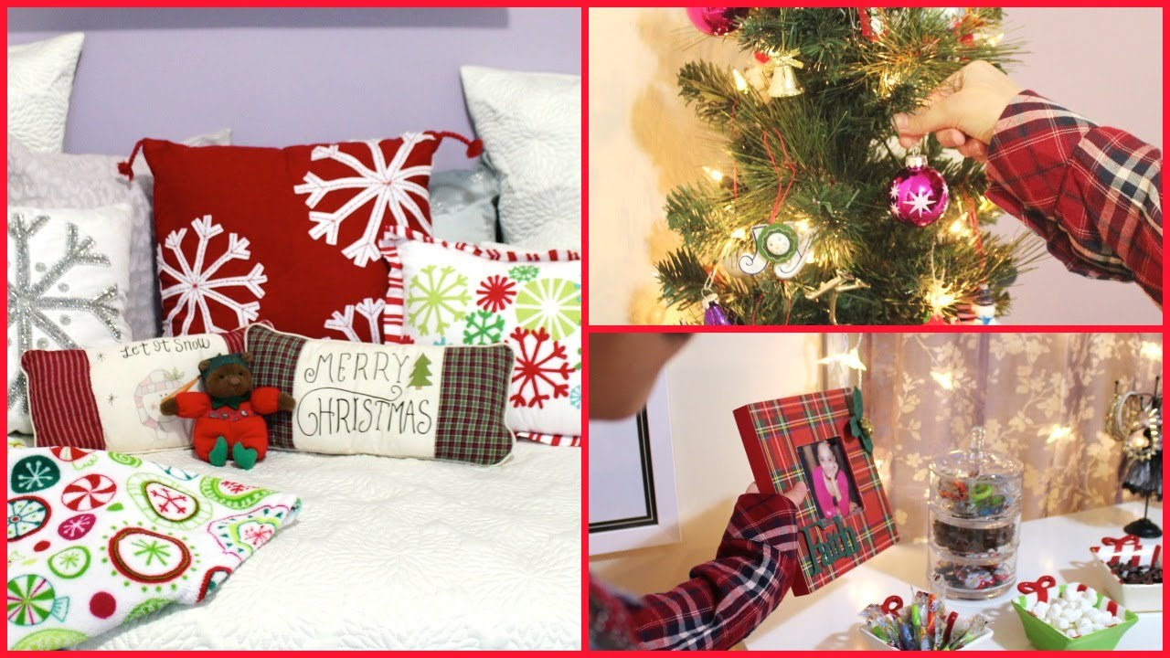 Christmas Room Decorating Easy Decorations For The