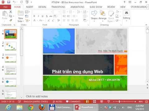 Phát triển ứng dụng Web -  Bài 01:  ASP NET