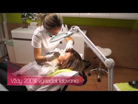 Permanentný makeup čiarkované obočie len za 99 eur Veronika Kocianová