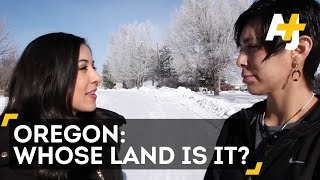 Oregon Occupation Native Paiute Tribe Speaks Direct From With Dena Takruri Aj