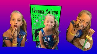 Holiday in Tenerife | Getting my henna tattoo | 2018 | Toys Tv