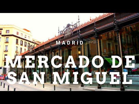 MADRID, MERCADO DE SAN MIGUEL - YouTube
