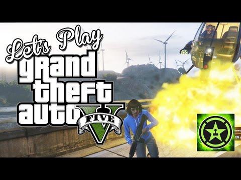 Lets Play GTA V Chopper VS Chopper