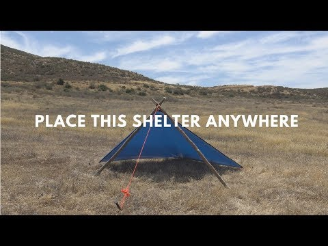The Free Standing Wedge (Plow Point) Shelter