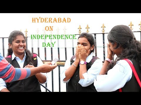 Hyderabad on Independence Day  Prank 2018 | Social Experiment In Telugu | Crazy fun Team