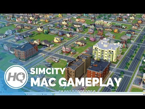SimCity Mac Gameplay by MacGamerHQ.com