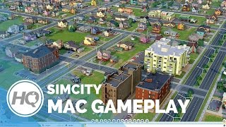 SimCity Mac Gameplay