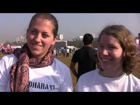 Reality Gives At The Mumbai Marathon 2013 video